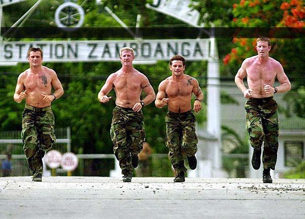 Тренировки американских солдат