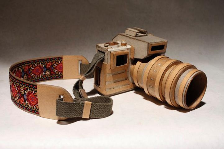 Бумажные фотоаппараты.