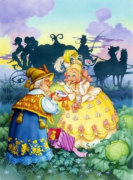 Сказочные рисунки от Елены Алмазовой