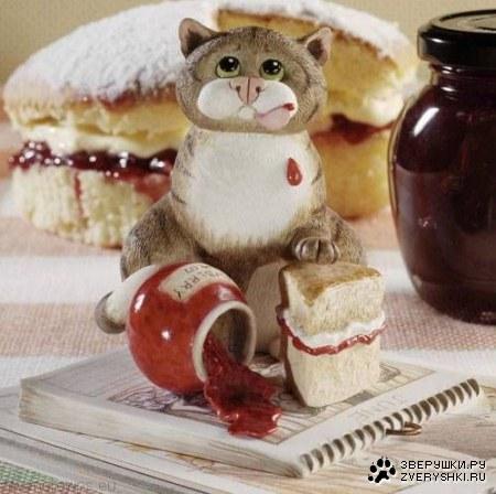 Очаровательные коты от Linda Jane Smith's.