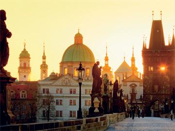 Романтичная Прага
