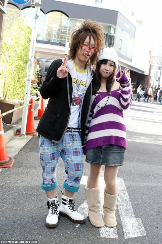Японская, уличная мода