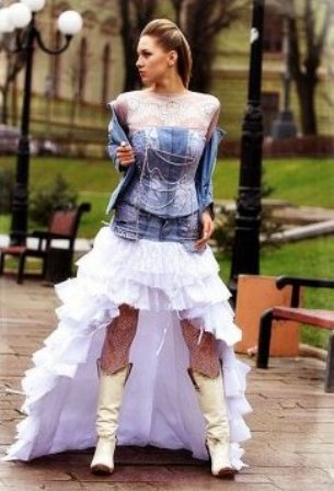 Необычные и креативные платья.