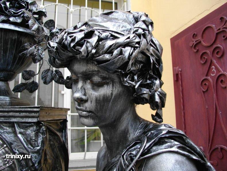 Конкурс живых скульптур в Евпатории