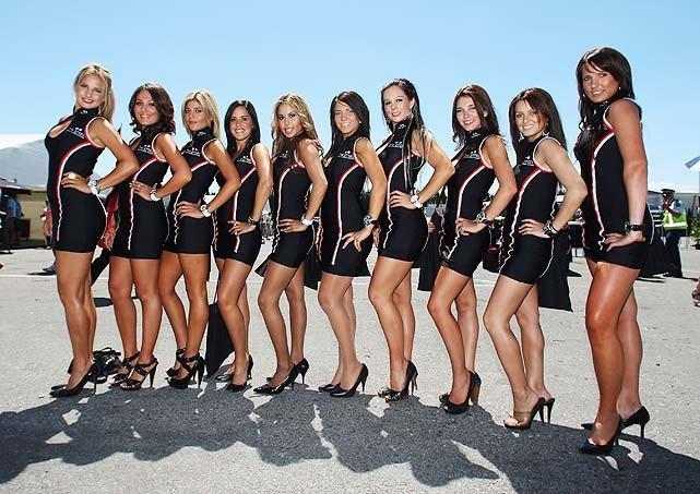 Девушки из Формулы-1