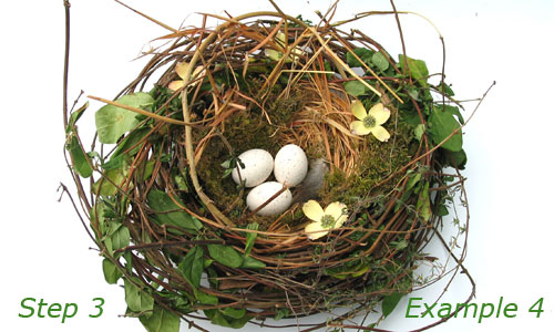 Как сделать гнездо для птиц для детского сада