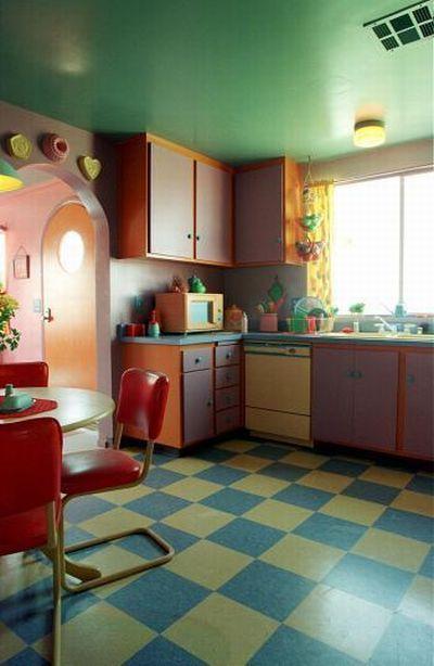 Реальный дом Симпсонов.