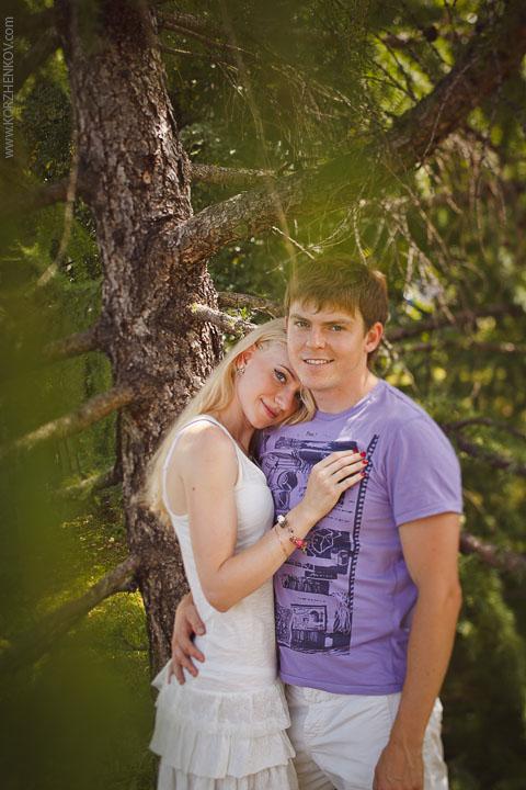 Романтическая love story в кадрах