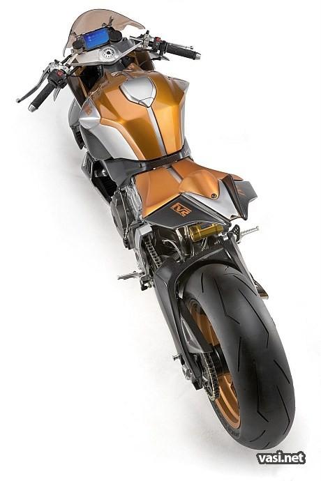 Футо мотоцикл FV2 1200
