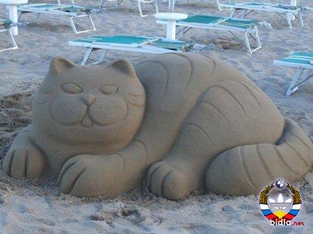 Творения из песка