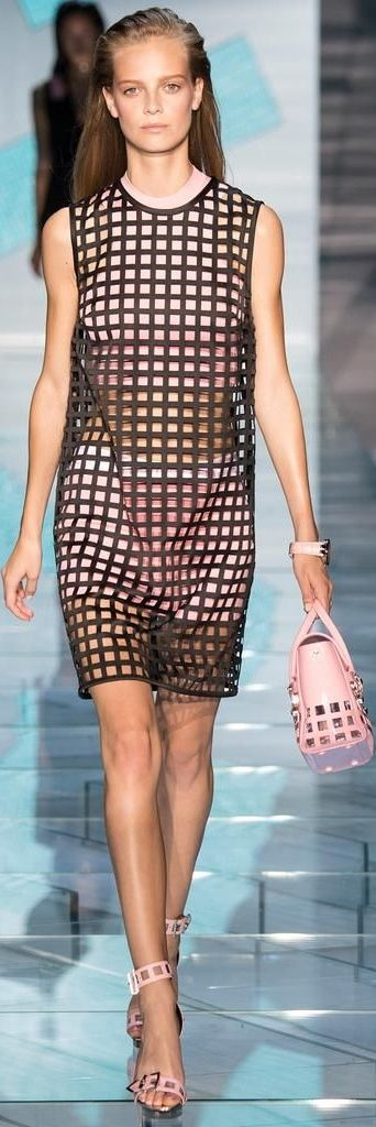 Versace весна 2015 RTW Shows