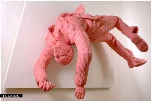 Скульптыры из жвачки