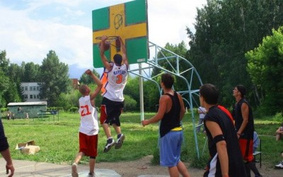 Новый вид баскетбола