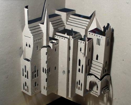 Бумажный замок.