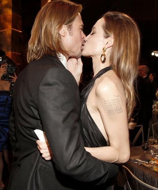 Самые страстные поцелуи..