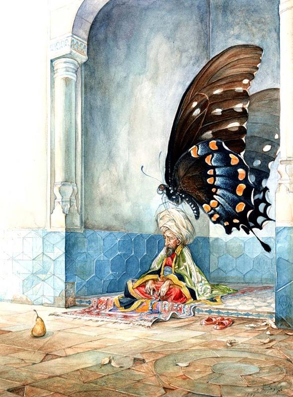 Красивые иллюстрации от Omar Rayyan.