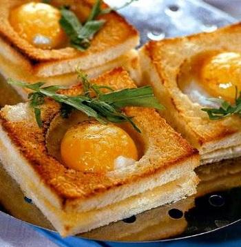 Жизнь внутри бутерброда :)