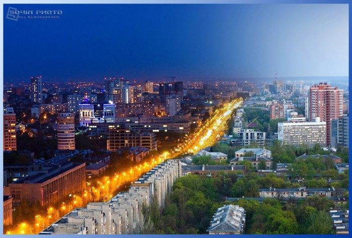 Вечер... Харьков...