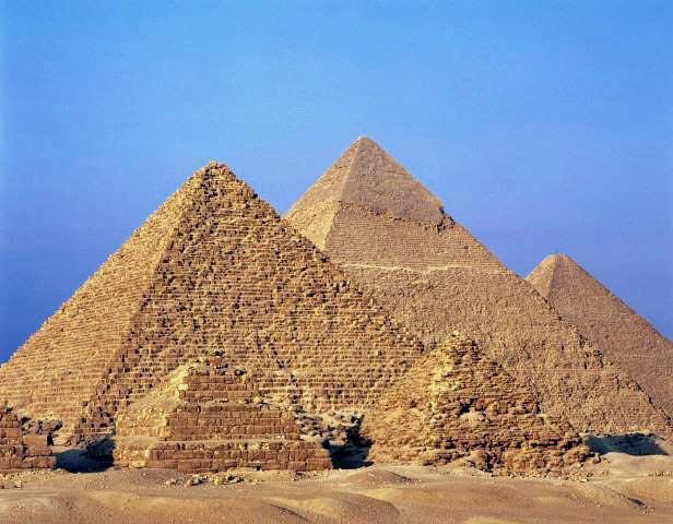 Египетские пирамиды: часть 2. Хефрена и Микерина.