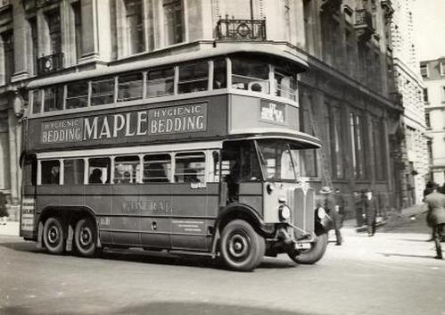 Гордость англии - лондонские автобусы.