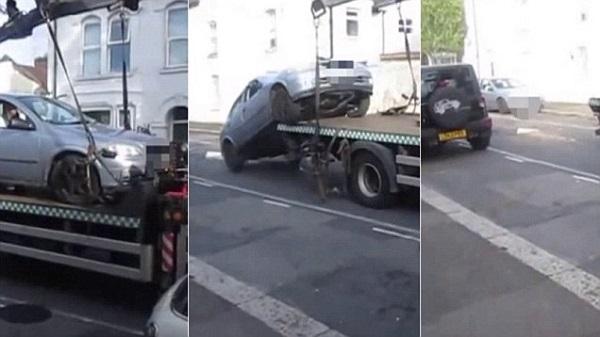 Мужчина угнал свой собственный автомобиль.