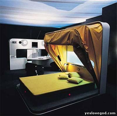 Еще креативных кроватей