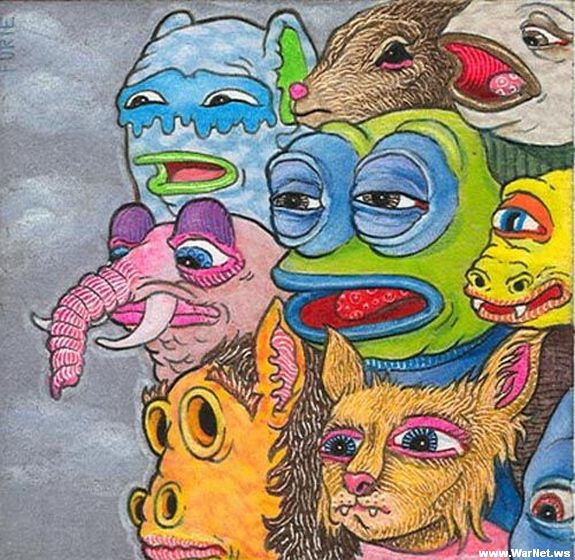 Наркоманские рисунки