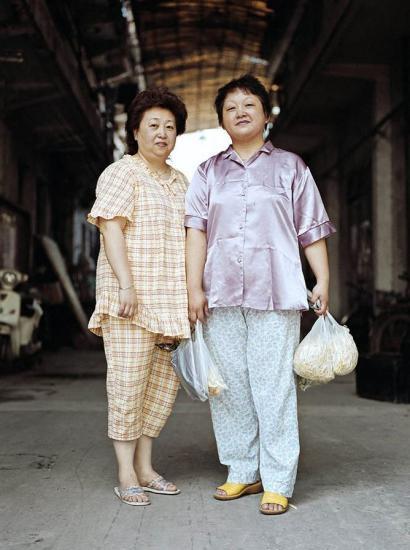 Шанхайские модники в пижамах