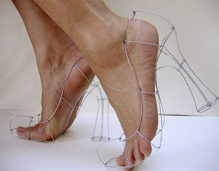 Самые необычные и креативные туфли.