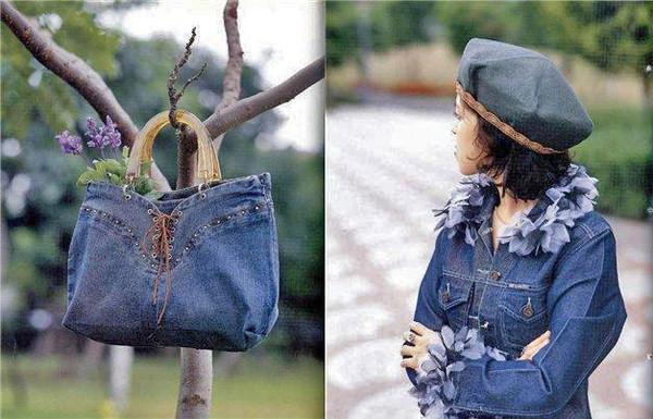 Создаем вещи из старых джинс.