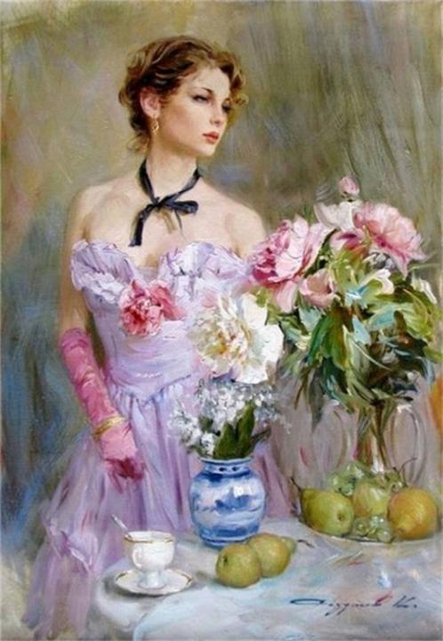 Образ женщины в искусстве.