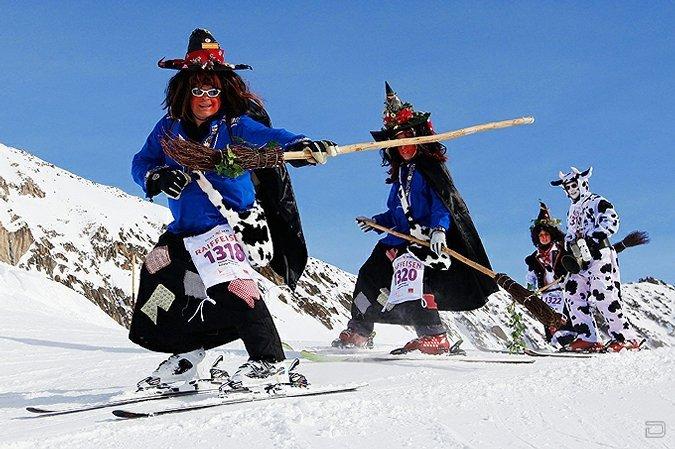 Соревнования ведьм в Швейцарии