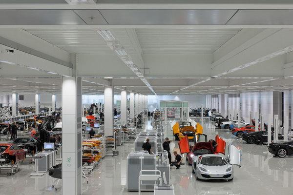 Завод McLaren