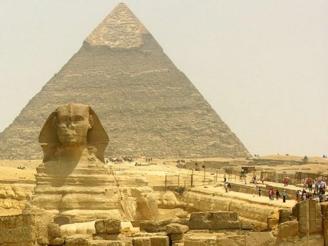 Египетские пирамиды: часть 1. Пирамида Хеопса.