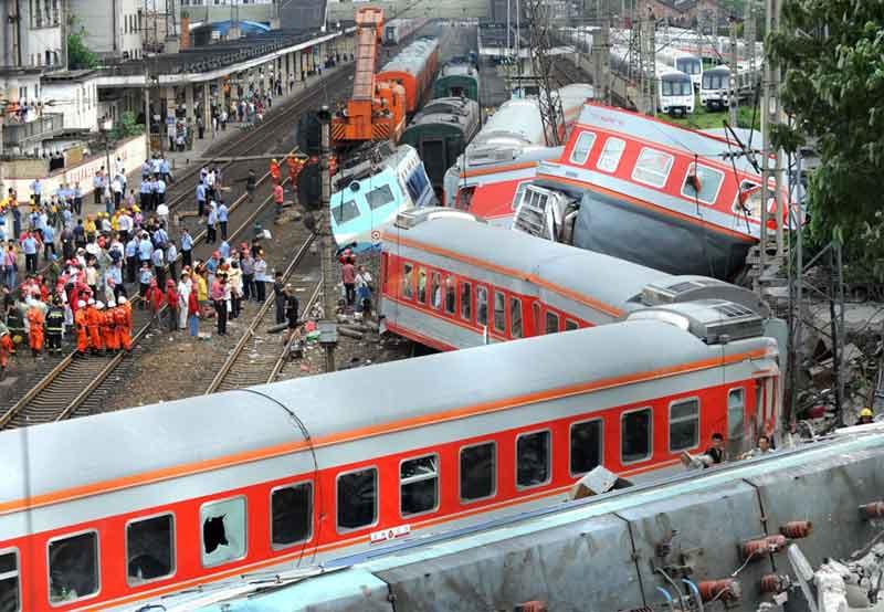 Железнодорожные катастрофы