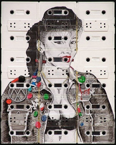 Рисунки на кассетах