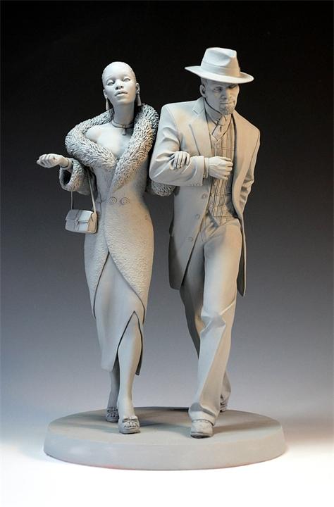 Скульптуры Mark Newman