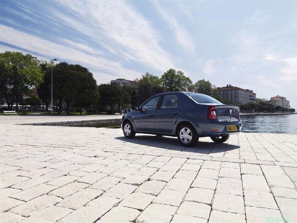 Dacia Logan — Внешнее обновление.