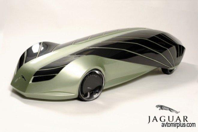 Jaguar Mark XXI - биоавтономный лимузин.