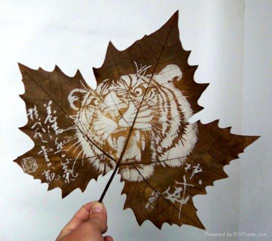 Работы Longal Artwork в волшебстве резного листа.