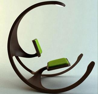 Необычные кушетки и кресла.