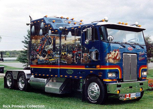 Аэрография грузовиков
