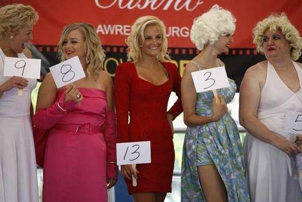 Конкурс двойников Мэрилин Монро в Цинциннати.