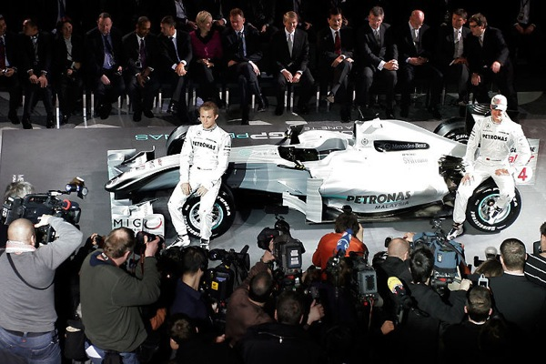 Новая команда Mercedes в