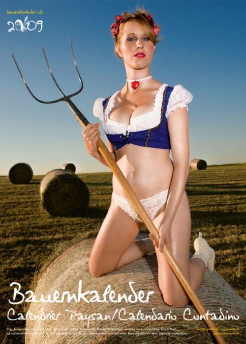 Bauernkalender 2015 — календарь швейцарских крестьянок.
