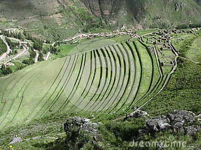 Гора Machupicchu в Перу