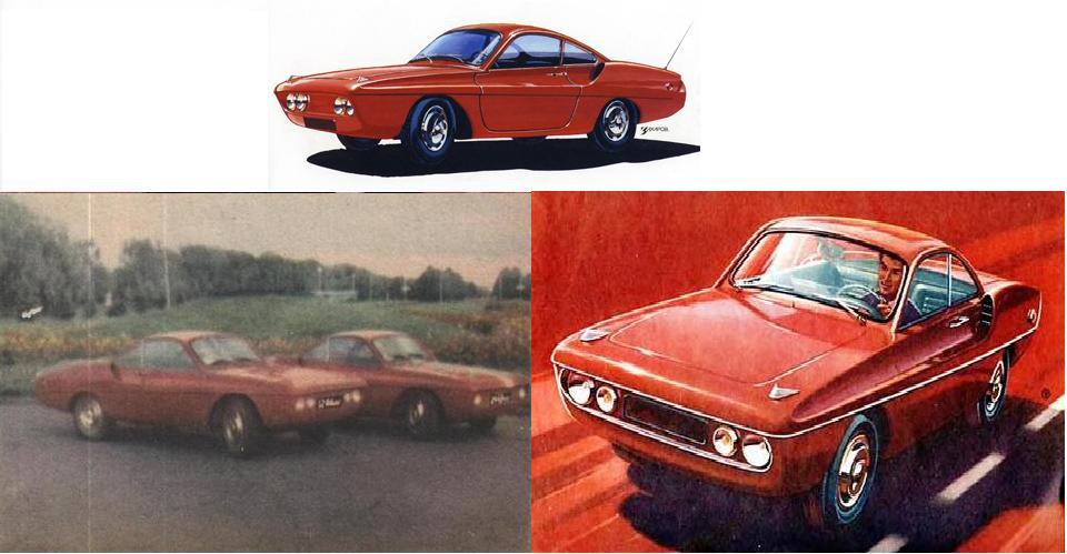 Советское спортивное авто: ГАЗ - ГЛ1